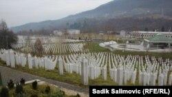 Memoriali në Potoçari dhe varrezat e viktimave të Srebrenicës