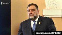 Соучредитель гуманитарной премии «Аврора» Рубен Варданян, Ереван, 24 апреля 2019 г.