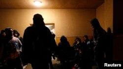 Migrantë nga Kosova, që po largoheshin fillimvitin e 2015-s