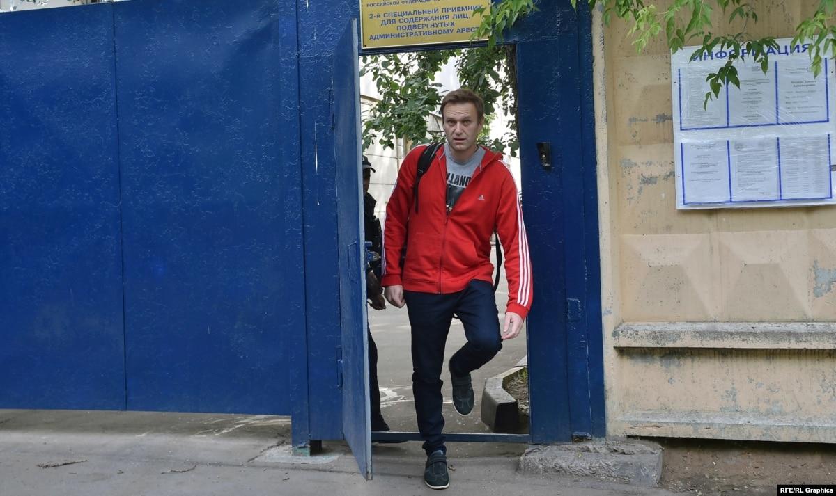 За решеткой и без решетки: сколько времени российский оппозиционер Алексей Навальный провел в неволе