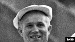 Н. С. Хрущев 1957-жылдын 15-январында Кыргызстанга иш сапары менен келген.