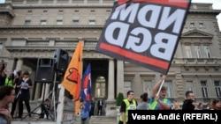 "Protest inicijative ""Ne da(vi)mo Beograd"""