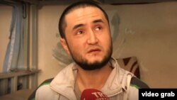 Parviz Saidrahmonov, a recruiter for Islamic State, appeared in a November 2019 Turkish television report.