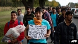 Marš migranata iz Beograda ka Mađarskoj