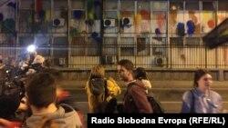 Protesti u Skoplju 20. aprila