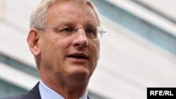 Карл Більдт, міністр закордонних справ Швеції