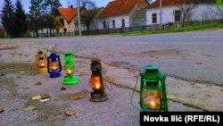 Umesto ulične rasvete - fenjeri