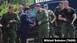 Пушилин и Захарченко
