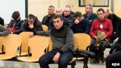 Один из судов в Мадриде над арестованными членами преступной группировки выходцев из стран СНГ