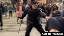 Столкновения с полицией на хип-хоп-фестивале в Москве