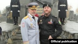 Ирасханов Аслан (аьтту агIорхьара) министрца Алханов Русланца