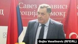 Miloard Dodik, lider Saveza nezavisnih socijaldemokrata