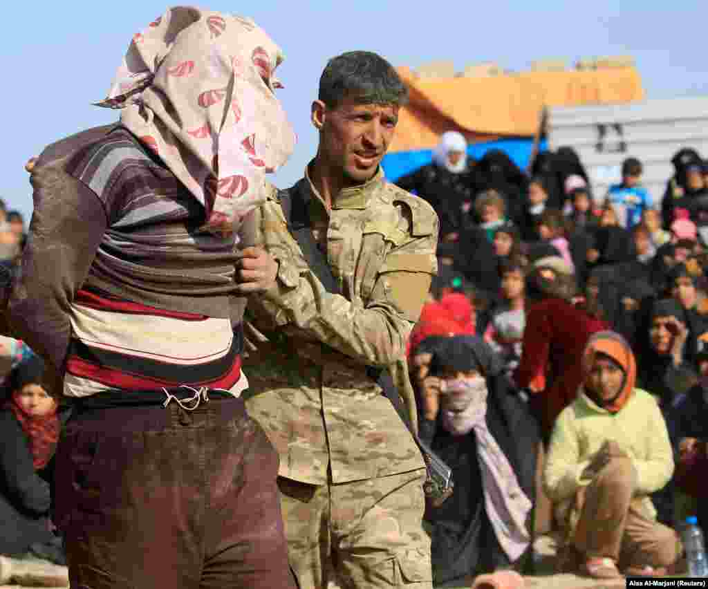 بازداشت مظنون به عضویت در داعش