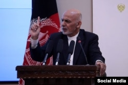 Ashraf Ghani (file photo)