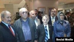 Иса Гамбар и Мустафа Джемилев. 3 ноября 2012 год