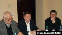 Юрый Тапарашаў, Аляксандар Коктыш, Аляксандар Петрачкоў
