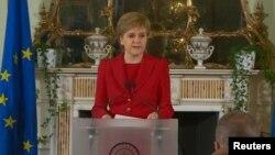 Первый министр Шотландии