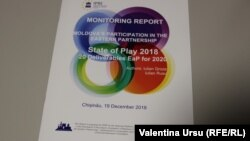 Raportul de monitorizare a participării R. Moldova la Parteneriatul Estic, 2018