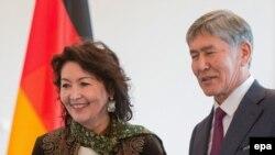 Алмазбек Атамбаев и Раиса Атамбаева. Архивное фото.