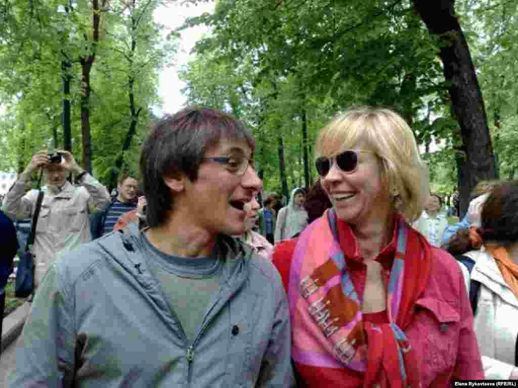 Михаил Фишман және Татьяна Лазарева