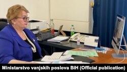 Ministrica vanjskih poslova BiH Bisera Turković