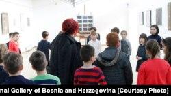 Djeca sa upoznavaju sa djelima bh. slikara
