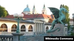 Любляна, столица фестиваля поэзии и вина