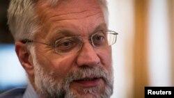 Григорий Марченко, Ұлттық банктің бұрынғы төрағасы. Алматы, 4 қыркүйек 2013 жыл.