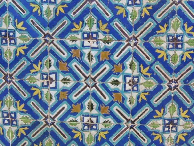 Gallery for gt blue mosque tiles