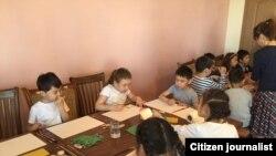 Наристелер сүрөтчү Настар Мамайдын мастер классында