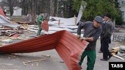 Жители Владикавказа пытаются привести город в порядок собственными силами