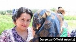 Председатель Комитета женщин Узбекистана Танзила Нарбаева. Архивное фото.