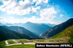 Kyrgyzstan presents a huge challenge for any transportation project.