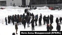 Участники несостоявшейся акции в Новокузнецке
