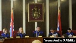 Sednica Ustavnog suda na kojoj je zabranjeno delovanje Nacionalnog stroja, 2. juni 2011