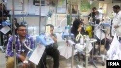 شماری از بیماران خوزستانی به دلیل مشکل تنفسی، در بخش مراقبتهای ویژه بستری شده اند.