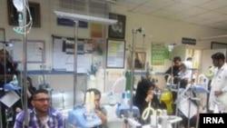 هزاران تن بر اثر اختلالات تنفسی ناشی از بارشهای اخیر در بیمارستانهای استان خوزستان پذیرش شدهاند