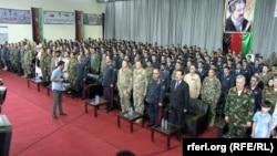 ۱۹۵ افسر از پوهنتون قوای هوایی افغانستان فارخ شدند.