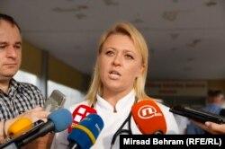 Predsjednica Strukovnog sindikata doktora medicine i stomatologije u HNK-a, Marina Berberović