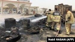 Intervenție a pompierilor la Aden după ciocnirile cu separatiștii