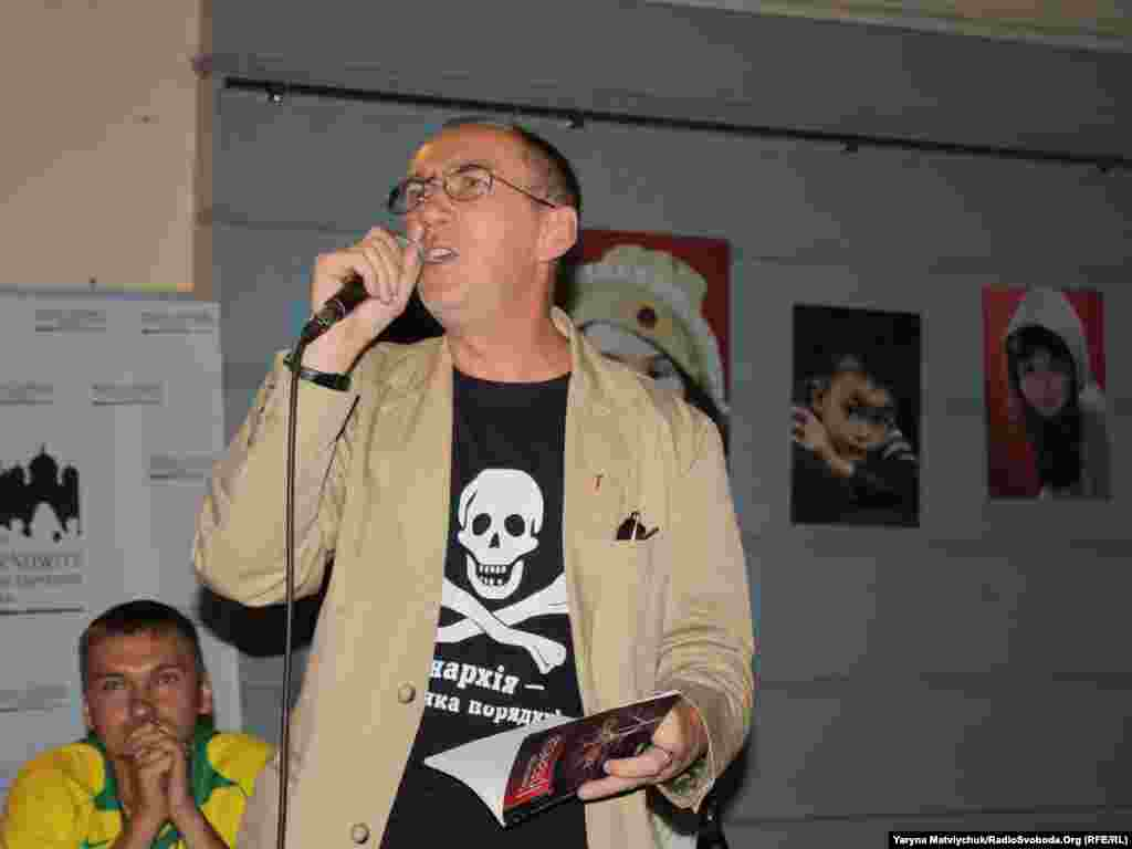 Олександр Ірванець, поет із України