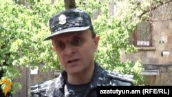 Valeri Osipian, the deputy head of Yerevan police, on June 28