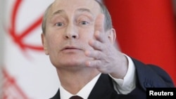 """""""Russia never gives up anyone to anybody, and is not planning to,"""" Russian President Vladimir Putin has said. """"And nobody ever gave anyone up to us."""""""