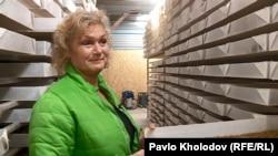 Дорте Свенструп, власниця ферми з вирощування хробаків