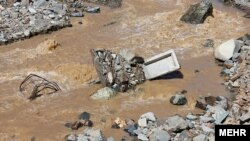 بروز سیلاب در راین کرمان