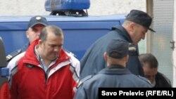 Privođenje optuženih u Viši sud u Podgorici