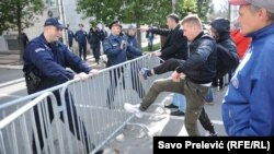 Podgorica: Sukobili se demonstranti i policija