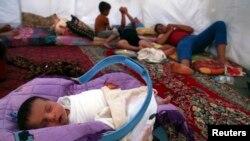 Ирбилдегі босқындар лагері. Ирак, 13 маусым 2014 жыл.