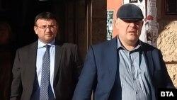 Младен Маринов и Иван Гешев посетиха Бобов дол на 13 февруари по повод разследването за изгаряне на отпадъци в местната ТЕЦ