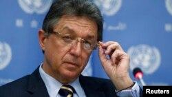 Постоянный представитель Украины при ООН Юрий Сергеев